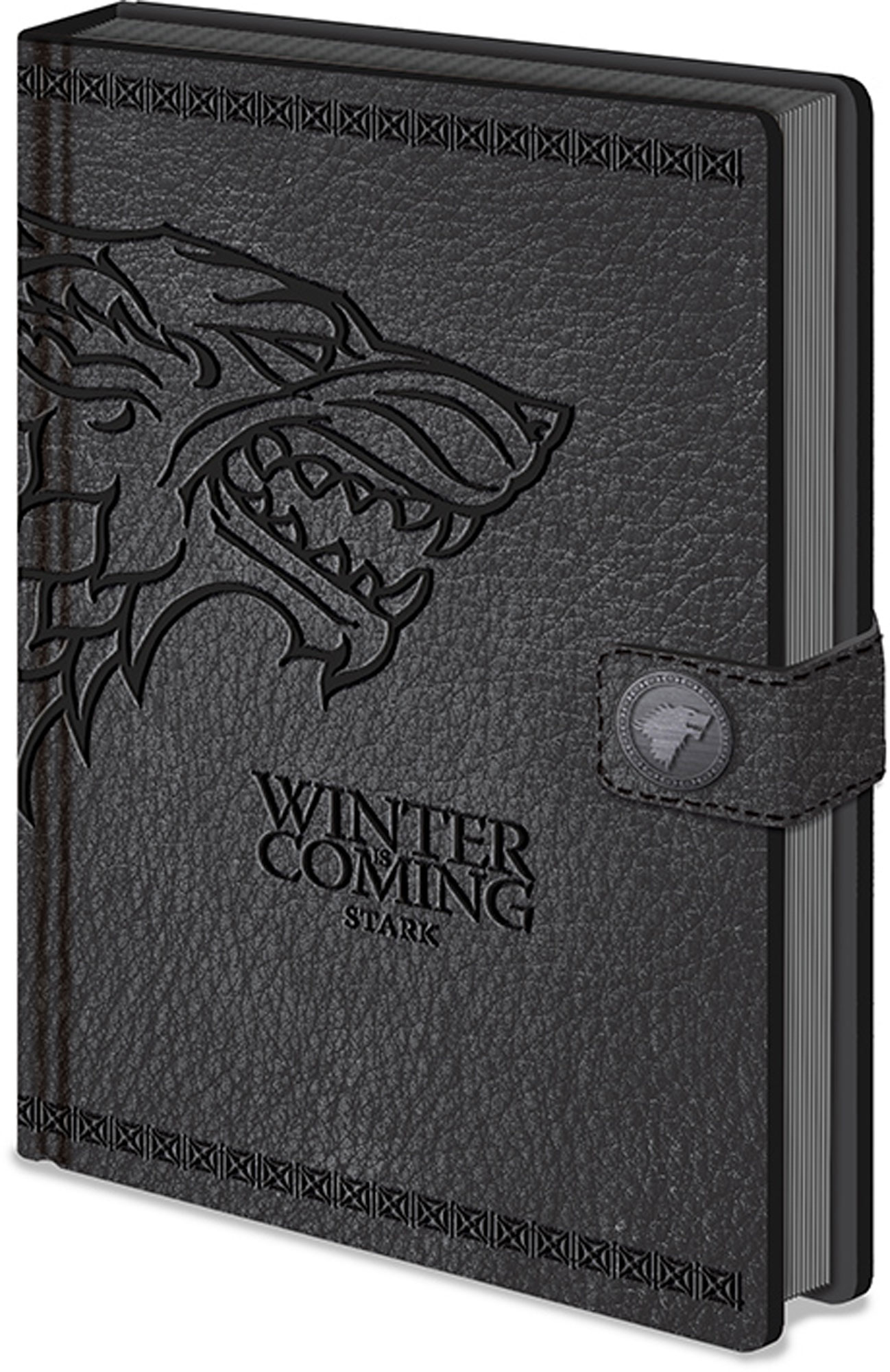 Game of Thrones - Luxus-Notizbuch - Stark - Wappen