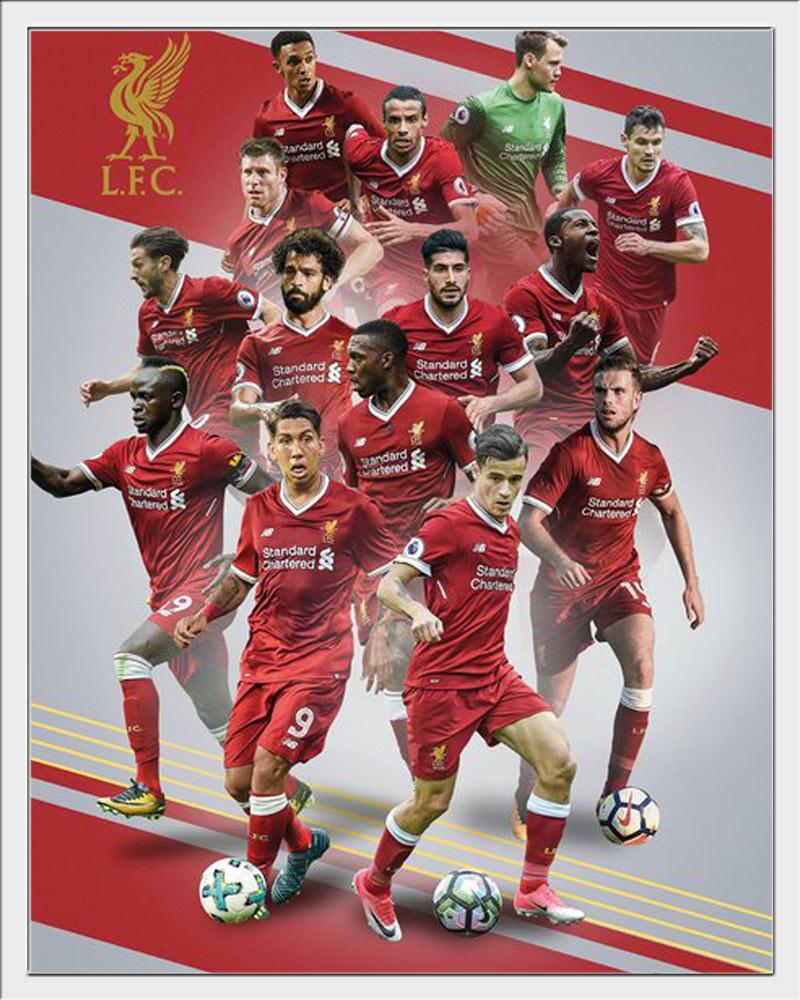 Details Zu Fussball Liverpool Fc Players 17 18 Mini Poster Plakat Grosse 40x50 Cm