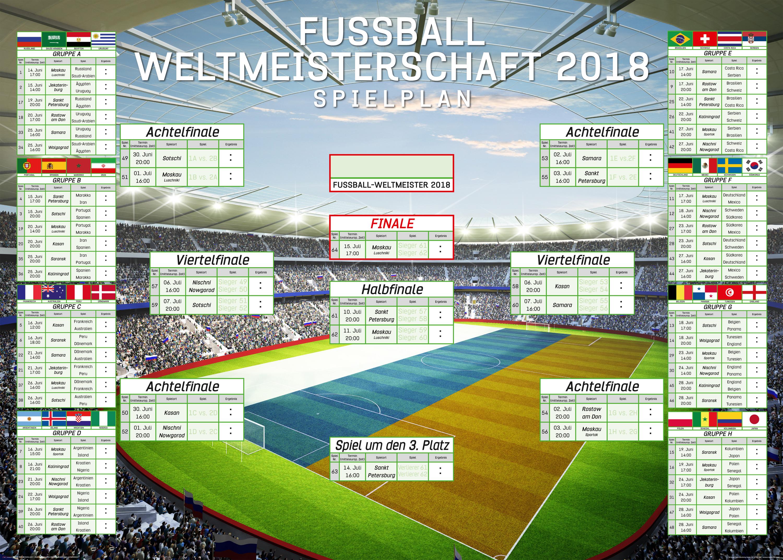 Wm Fussball Spielplan