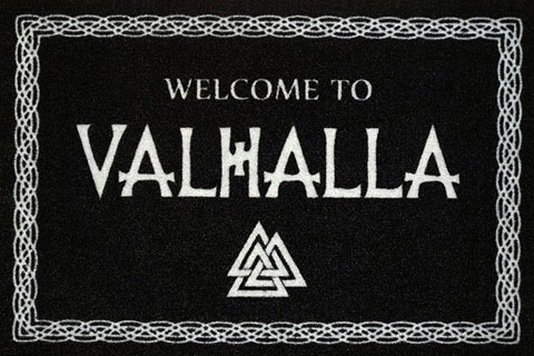 Fußmatte - Türmatten - Welcome to Valhalla