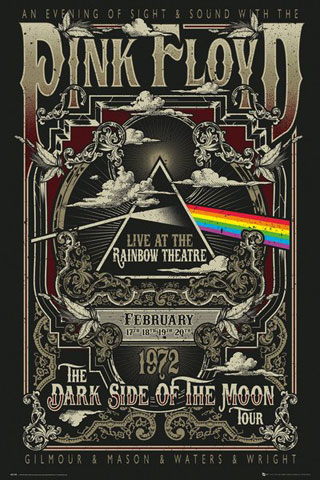 Pink Floyd - Poster - Rainbow Theatre
