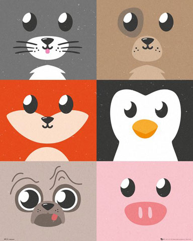 Tiere - Mini-Poster - Cutest Critters - Compilation
