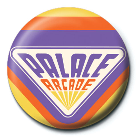 Stranger Things - Button Badge - Palace