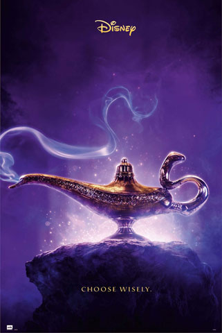 Aladdin - Poster - One Sheet