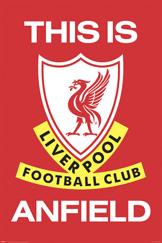 FC Liverpool - Poster - This Is Anfield