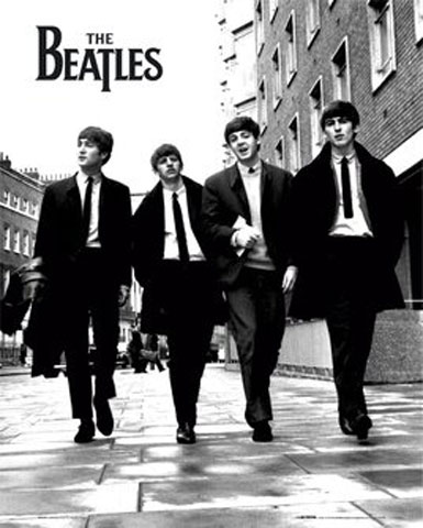 The Beatles - Mini-Poster - In London