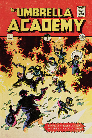 The Umbrella Academy - Poster - School is in Session