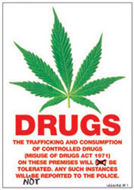Poster - Dope Drugs Notice