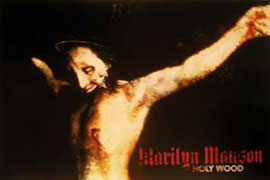 Poster - Manson, Marilyn Holywood
