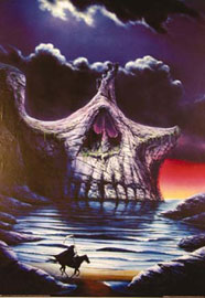 Poster - Fantasy Skull Point