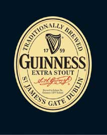 Poster - Beer Guinness Label