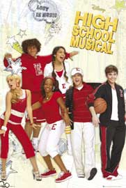 Poster - High School Musical 2 Lost in Music