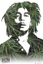 Poster - Marley, Bob Leaves