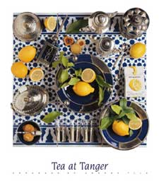 Poster - Tilk, Andrea Tea At Tanger