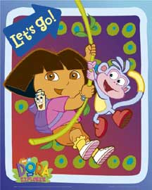 Poster - Dora the Explorer Let´s Go