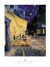 Poster - Van Gogh, Vincent Cafe Terrace at Night