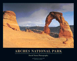 Poster - Arches National Park