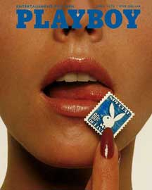 Poster - Playboy Stamp