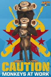 Poster - Madagascar 2 - Monkeys