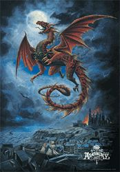 Poster - Alchemy Whitby Wyrm 3D Poster