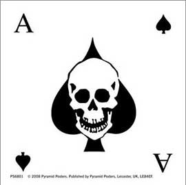 Poster - Alchemy Ace of Spades Square