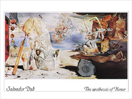 Poster - Dali, Salvador The apotheosis of Homer