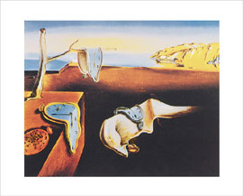 Poster - Dali, Salvador The Persistance of Memory
