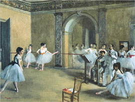 Poster - Degas, Edgar The Dance Foyer, Opera
