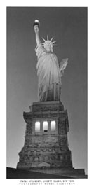 Poster - Silberman, Henri Statue of Liberty New York
