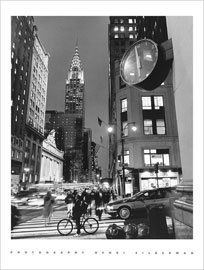 Poster - Silberman, Henri Chrysler Clock