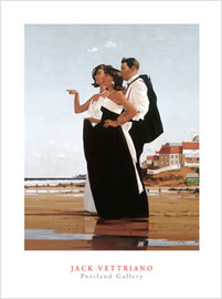 Poster - Vettriano, Jack The missing man II