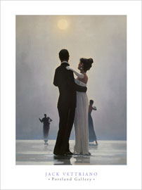 Poster - Vettriano, Jack Dance Me to the End