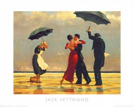 Poster - Vettriano, Jack The singing Butler
