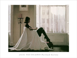 Poster - Vettriano, Jack In thoughts of you