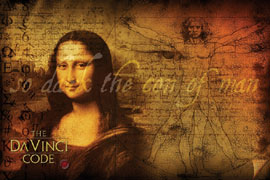 Poster - Da Vinci Code, The So Dark The Con Of Man
