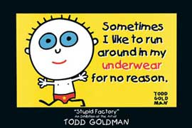 Poster - Goldman, Todd Sometimes I like to run