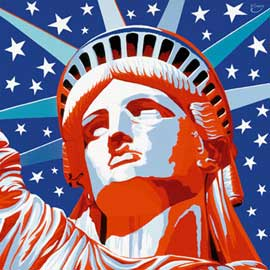 Poster - Gorsky, Vladimir Statue of Liberty New York