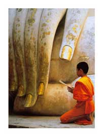 Poster - Sitton, Hugh The Hand of Buddha