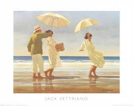 Poster - Vettriano, Jack The Picnic Party