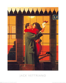 Poster - Vettriano, Jack Back Where You Belong