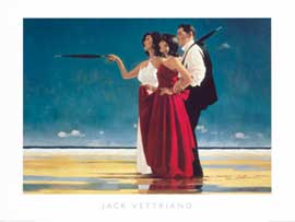 Poster - Vettriano, Jack The missing man I