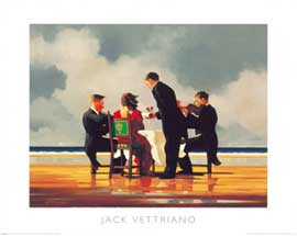 Poster - Vettriano, Jack Elegy for The Dead Admiral