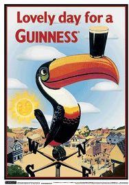 Poster - Beer Guinness Toucan