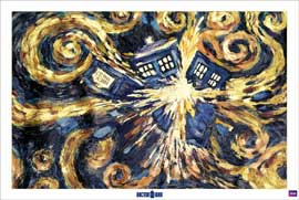Doctor Who Exploding Tardis