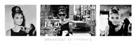 Poster - Hepburn, Audrey Breakfast At Tiffany's B&W
