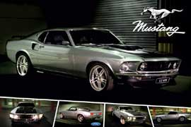 Poster - Mustang Ford Cobra Jet 428