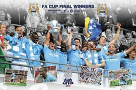 Manchester City FA Cup Winner 10/11