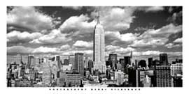 Poster - Silberman, Henri Over Manhatten New York