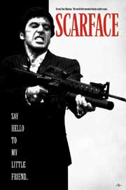 Poster - Scarface Say Hello to my Friend