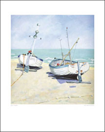 Poster - Hewlett, Jane Two Moored Boats